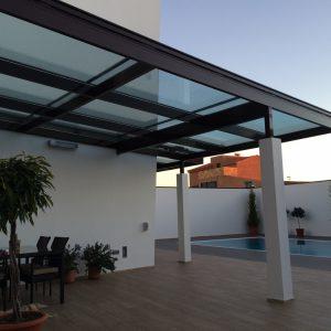 Techo-fijo-vidrio-y-veranda.-Marrón-8